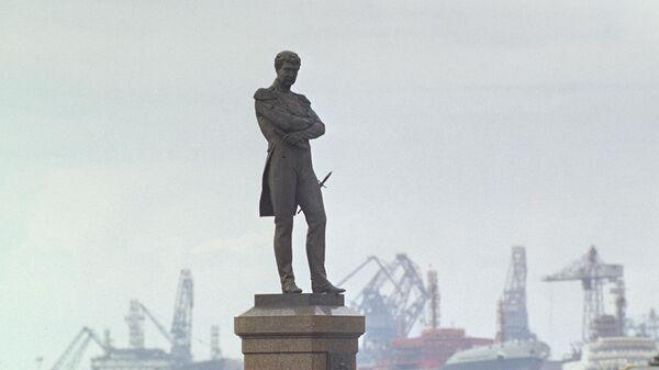 Памятник русскому мореплавателю адмиралу Ивану Федоровичу Крузенштерну