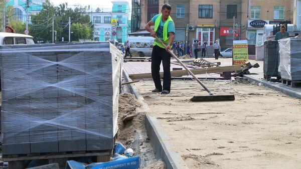 В Омской области активно благоустраивают дворы, парки и скверы