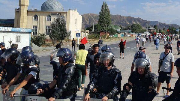 Ситуация в селе Кой-Таш в Киргизии