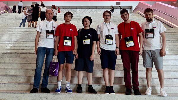 Российские школьники на 31-й Международной олимпиаде по информатике