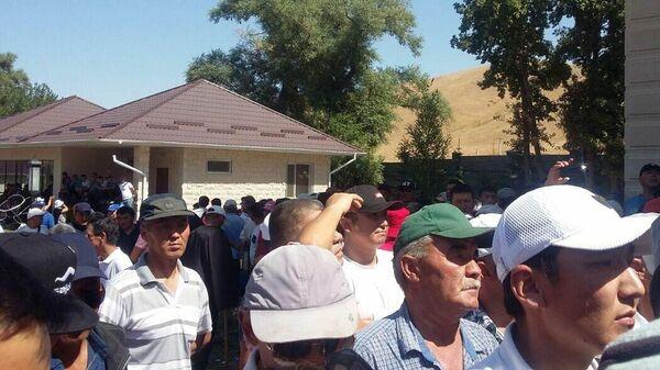 Ситуация в селе Кой-Таш в Киргизии. 8 августа 2019