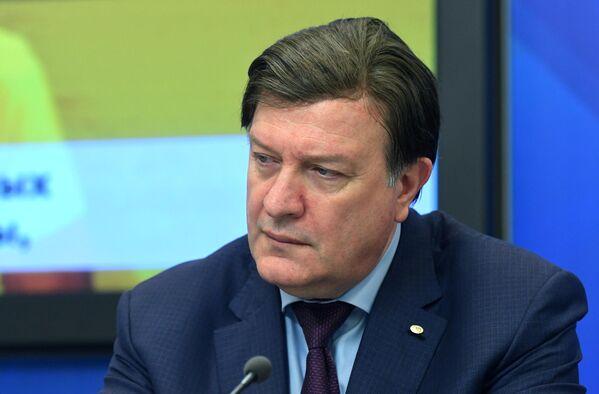 Амиран Ревишвили  на пресс-конференции по итогам лечения Касима Алькадима