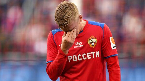 Игрок ЦСКА Арнор Сигурдссон