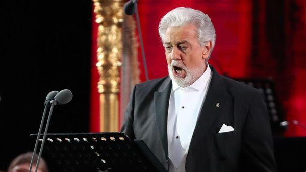 Испанский оперный певец Пласидо Доминго