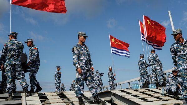 Международный армейский конкурс Морской десант