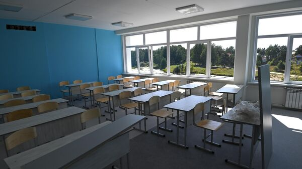 Кабинет начальных классов средней общеобразовательной школы