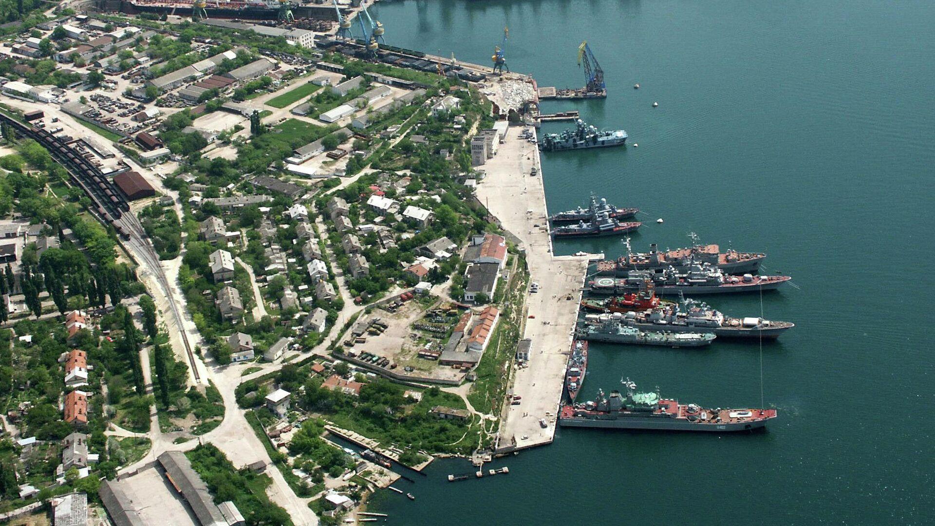Порт в Севастополе - РИА Новости, 1920, 07.05.2021
