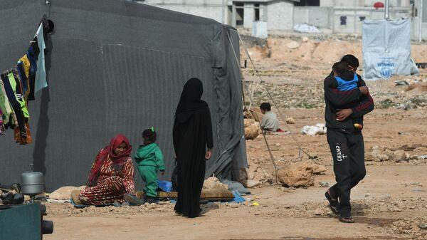 Лагерь сирийских беженцев