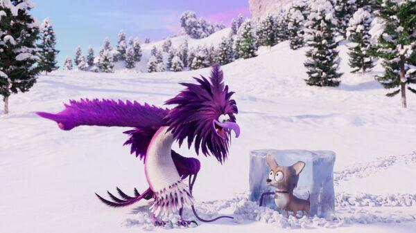 Кадр из мультфильма Angry Birds 2 в кино