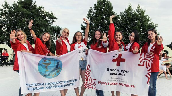 71 доброволец получил благодарность от председателя ВОД Волонтеры-медики