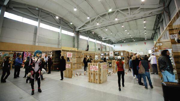 Общий вид выставочного стенда на ярмарке SAM Fair