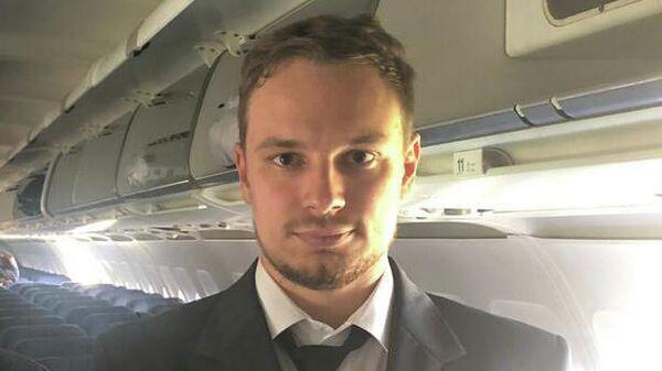 Георгий Мурзин - второй пилот самолета  Airbus А-321 авиакомпании Уральские авиалинии, совершившего аварийную посадку в Жуковском