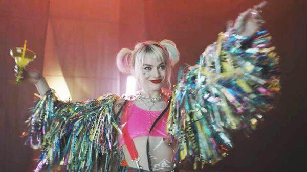 Марго Робби в образе Harley Quinn тизере к фильму Хищные птицы