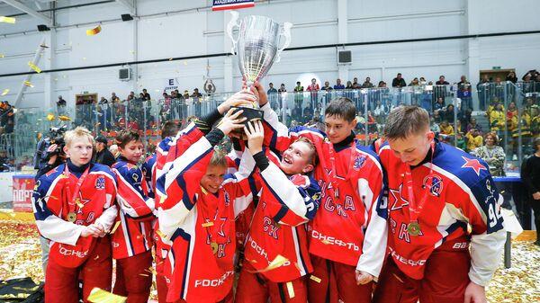 Финал хоккейного турнира OвиCup в Красногорске