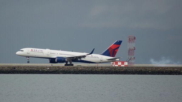 Самолет Boeing 757-200 авиакомпании Delta Airlines