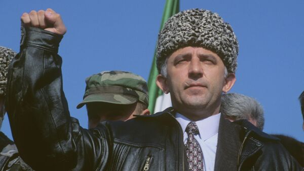 Аслан Масхадов. 1996 год