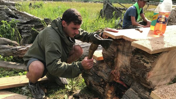 Волонтеры РГО обустроили экомаршрут в Катунском заповедник