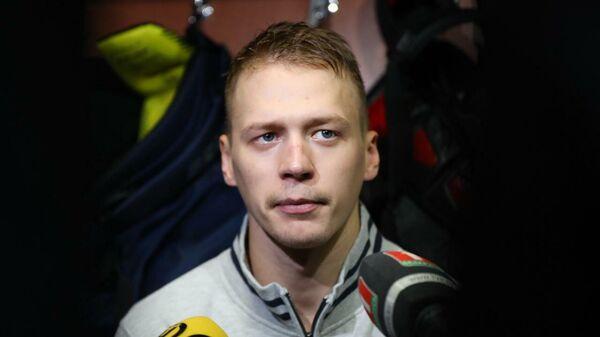 Игрок ХК Нефтехимик Дмитрий Казионов
