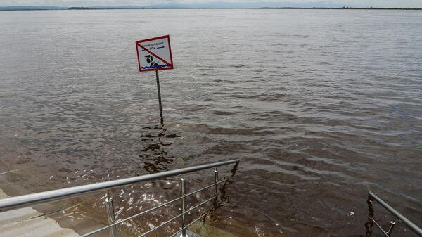 Уровень воды в реке у Комсомольска-на-Амуре вырос за сутки на 19 см