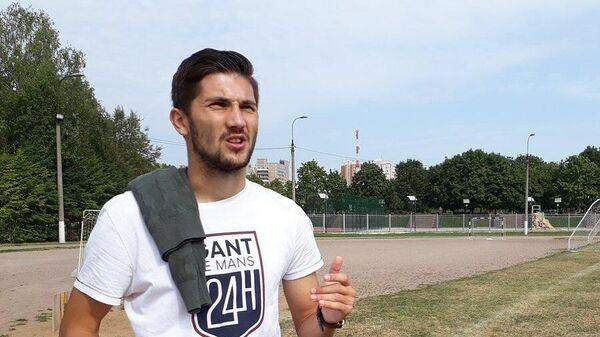 Полузащитник Зенита Алексей Сутормин
