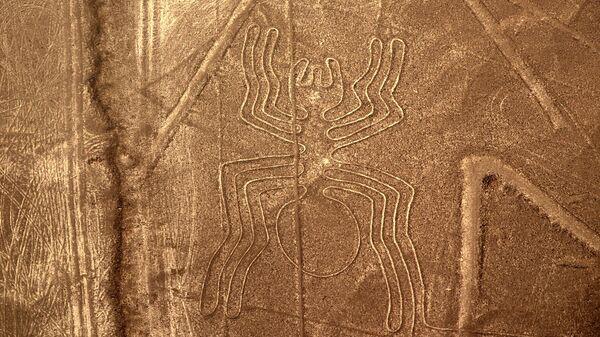 Геоглиф в пустыне Наска