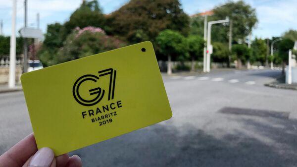 Французский Биарриц перед началом саммита G7