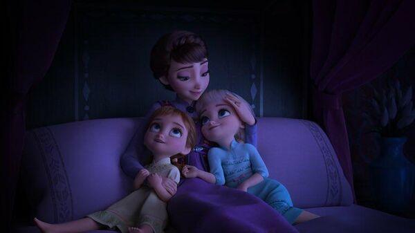 Кадр из мультфильма Холодное сердце 2 студии Уолта Диснея