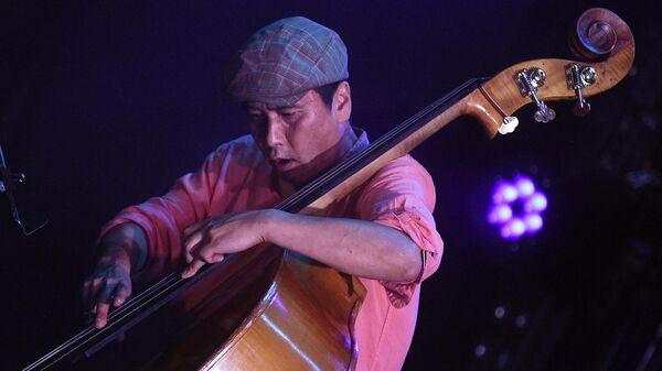Выступление джазового ансамбля Якова Окуня на 17-м международном музыкальном фестивале Koktebel Jazz Party в Крыму