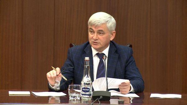 Председатель Правительства Республики Ингушетия Зялимхан Евлоев