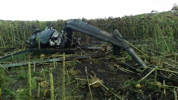 Крушение вертолета Ми-2 в Краснодарском крае. 26 августа 2019