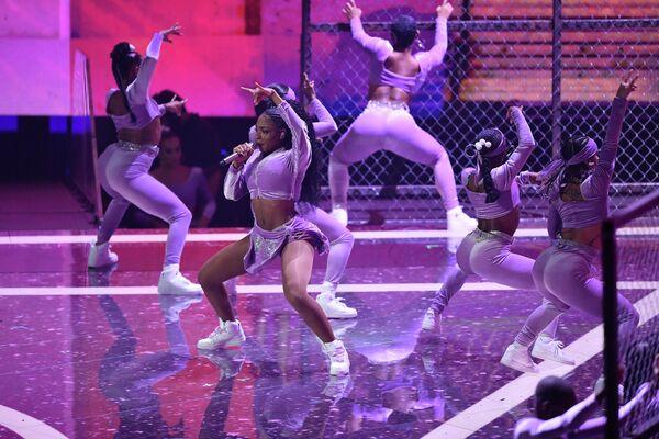Певица Нормани на церемонии вручения премии 2019 MTV Video Music Awards