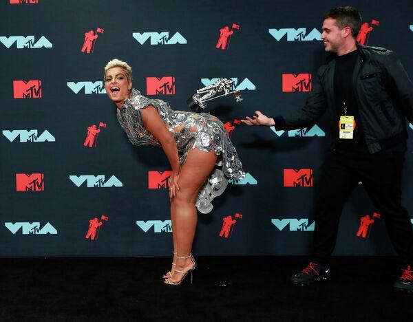Биби Рекса на церемонии вручения премии 2019 MTV Video Music Awards