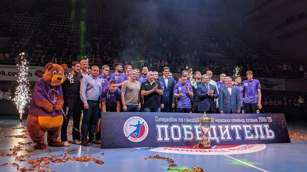ГК Чеховские медведи в шестой раз подряд выиграл Суперкубок России