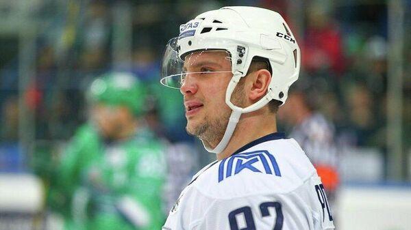 Игрок ХК Амур Богдан Потехин
