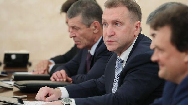 Председатель государственной корпорации развития ВЭБ.РФ Игорь Шувалов