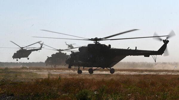Военные вертолеты
