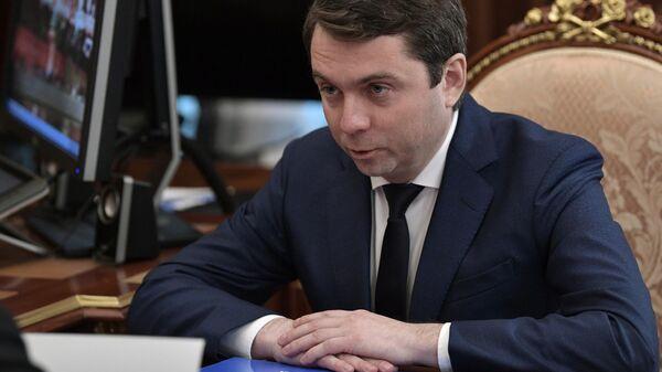 Временно исполняющий обязанности губернатора Мурманской области Андрей Чибис