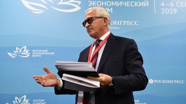 Президент РСПП Александр Шохин на V Восточном экономическом форуме во Владивостоке