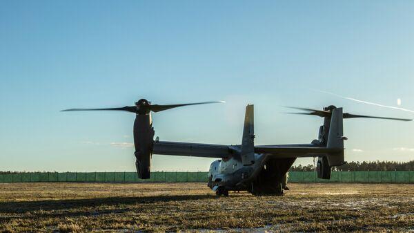 Конвертоплан ВВС США CV-22 Osprey