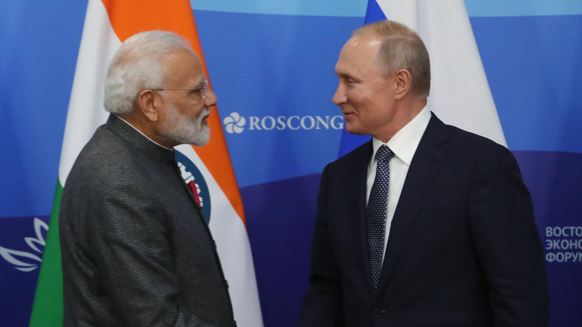Моди назвал разговор с Путиным отличным