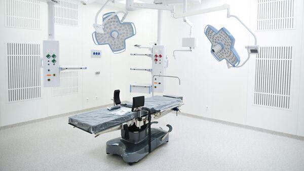 Операционное оборудование в лечебно-диагностическом корпусе одного из медицинских центров