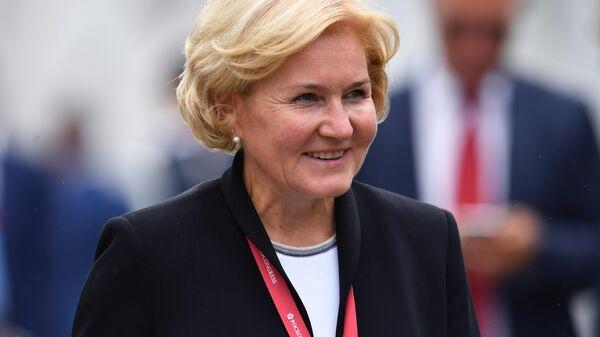Заместитель председателя правительства РФ Ольга Голодец на V Восточном экономическом форуме во Владивостоке