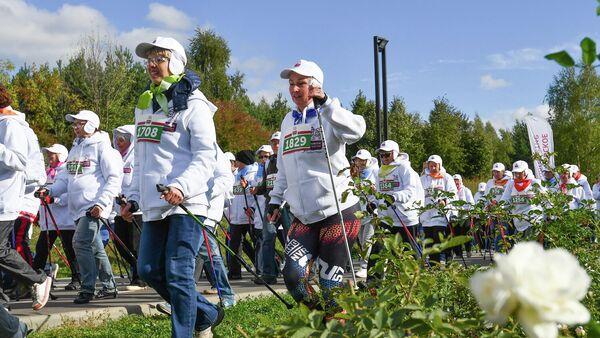Благотворительный Скандинавский променад пройдет в Москве 29 сентября
