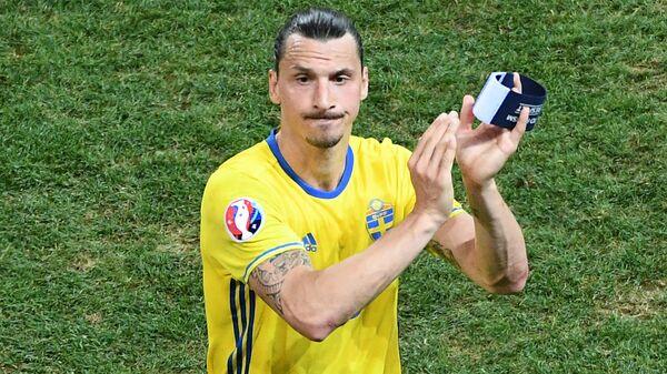 Златан Ибрагимович завершил карьеру в сборной Швеции после поражения от бельгийцев