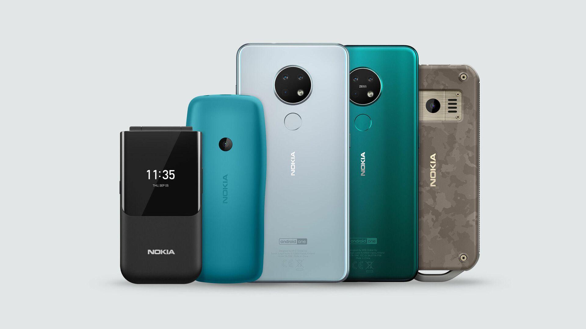 Новые телефоны Nokia - РИА Новости, 1920, 14.07.2021