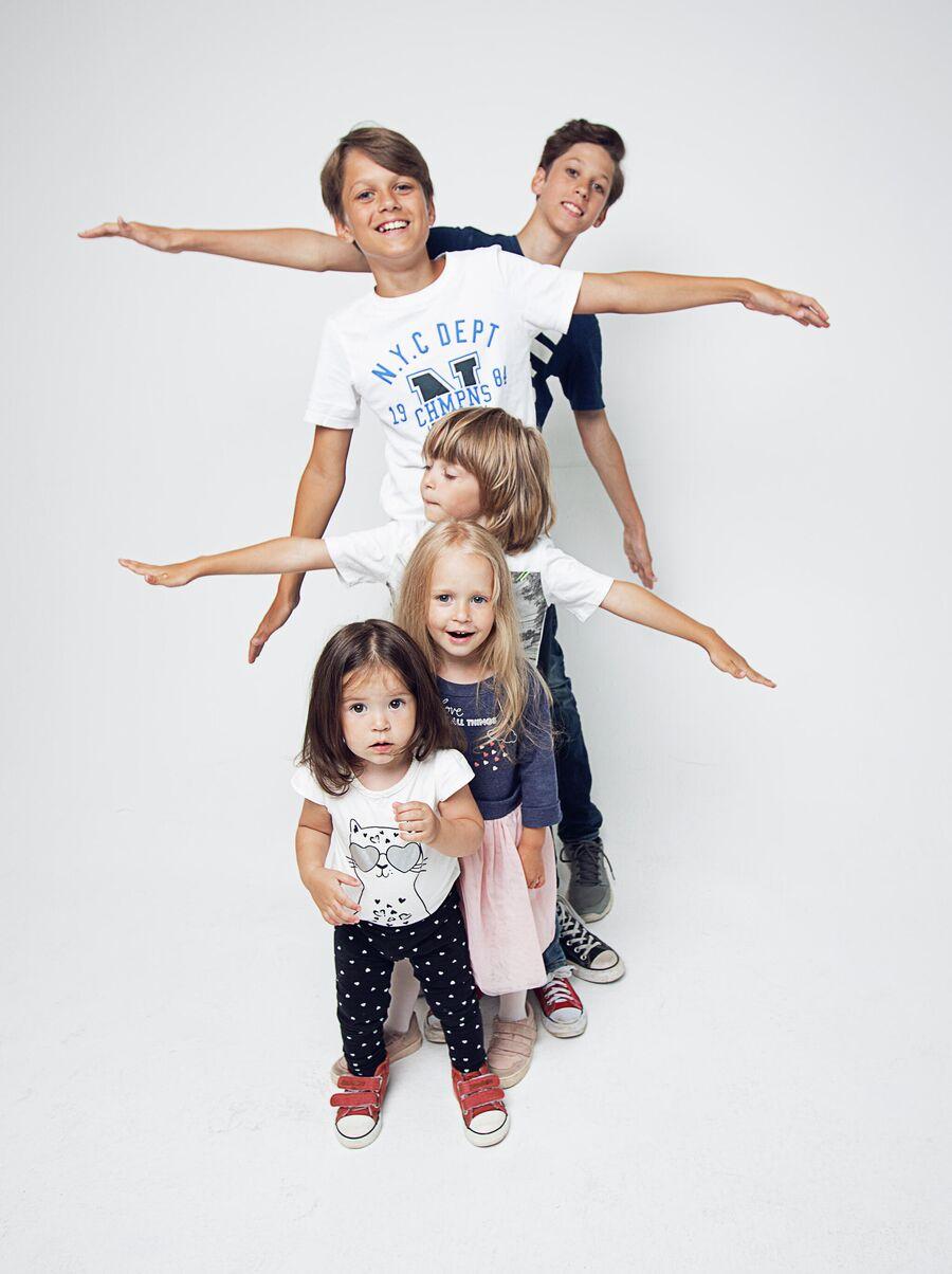 В семье Ширяевых пятеро детей