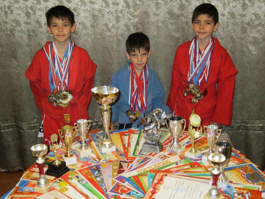 Спортивные награды Ульяновых