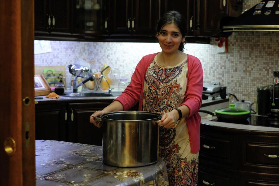 Суп и компот в семье Ульяновых варят 15-литровыми кастрюлями. На неделю хватает не всегда