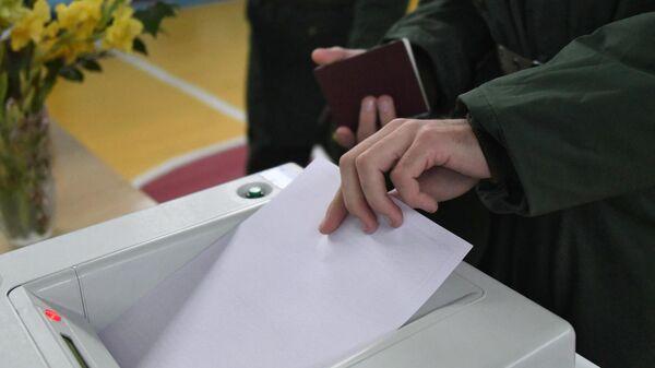 Избиратель в единый день голосования