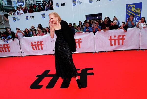 Австралийско-американская актриса Николь Кидман на Международном кинофестивале в Торонто